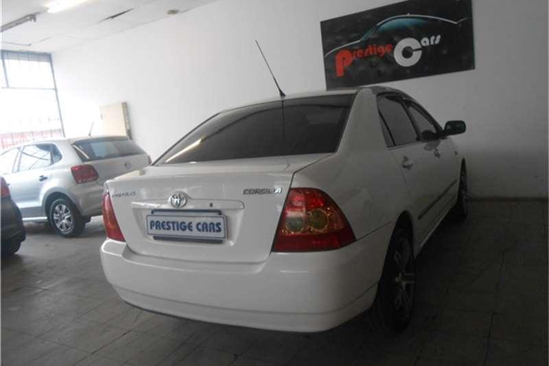 2007 toyota corolla 1 6 gls sedan cars for sale in gauteng r 69 000 on auto mart. Black Bedroom Furniture Sets. Home Design Ideas