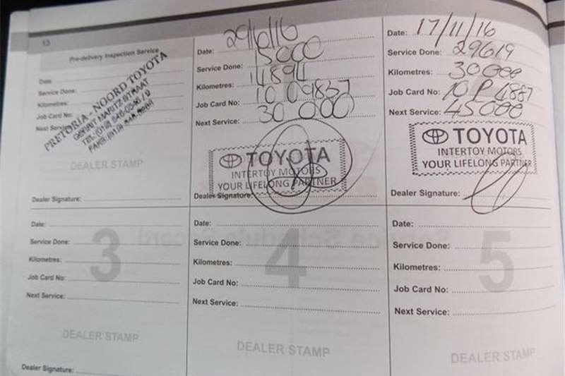 Toyota Corolla 1.6 Prestige Auto 2016