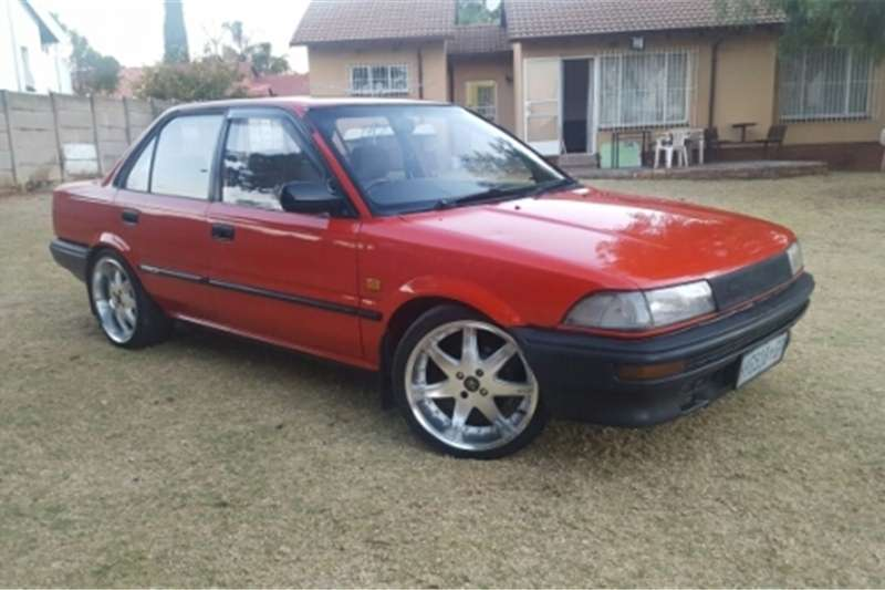 1989 toyota corolla for sale cars for sale in gauteng r 42 000 on auto mart. Black Bedroom Furniture Sets. Home Design Ideas
