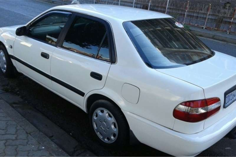 2002 toyota corolla 160i for sale cars for sale in gauteng r 38 000 on auto mart. Black Bedroom Furniture Sets. Home Design Ideas