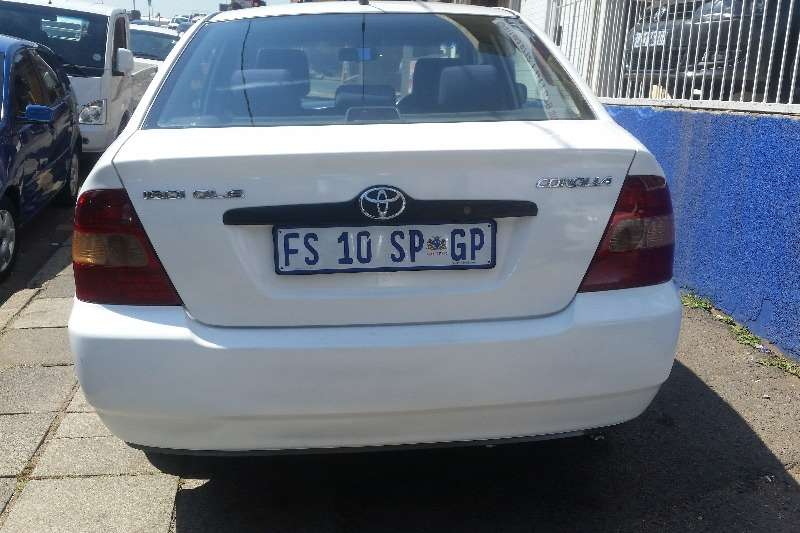 Used Toyota For Sale >> 2005 Toyota Corolla 160i GLE Sedan ( FWD ) Cars for sale in Gauteng | R 65 000 on Auto Mart