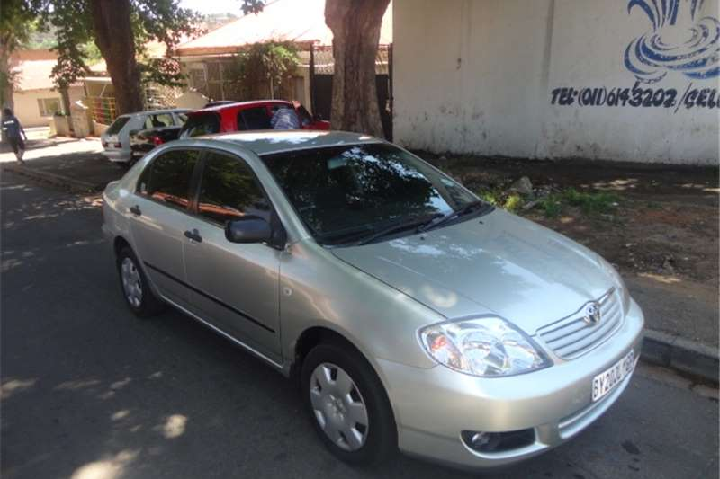 2006 toyota corolla 160i gle automatic cars for sale in gauteng r 76 000 on auto mart. Black Bedroom Furniture Sets. Home Design Ideas