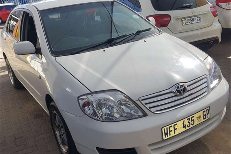2007 toyota corolla i 6 gle auto cars for sale in gauteng r 85 000 on auto mart. Black Bedroom Furniture Sets. Home Design Ideas