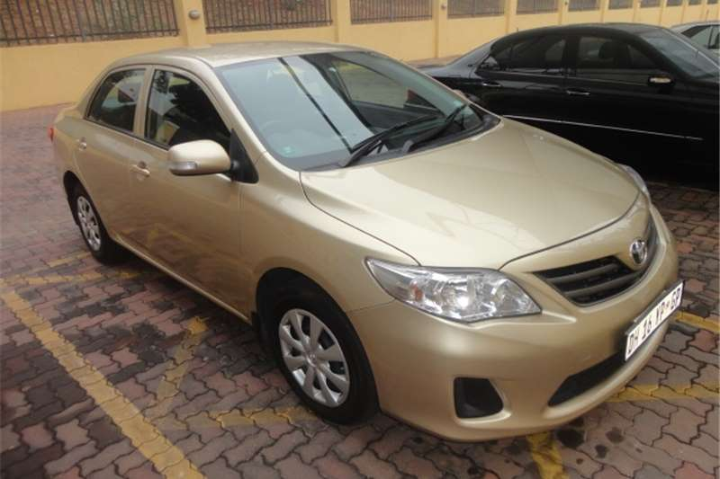 2013 toyota corolla toyota 1 3 professional cars for sale in gauteng r 135 000 on auto mart. Black Bedroom Furniture Sets. Home Design Ideas