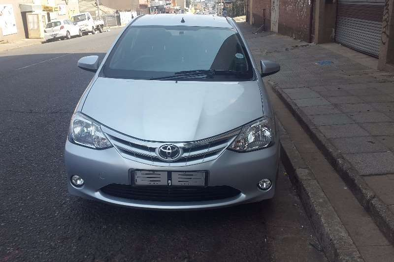 Toyota Etios sedan 1.5 Sprint 2016