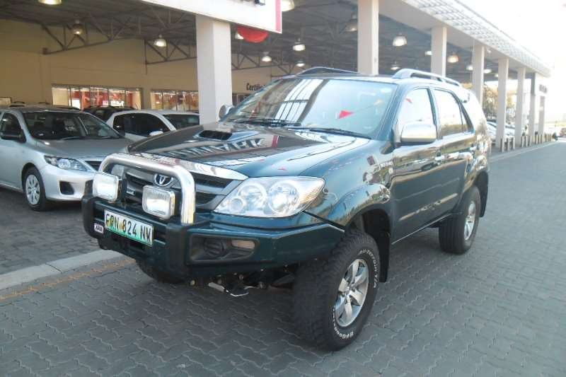 Toyota Fortuner 3.0D-4D 4x4 2006