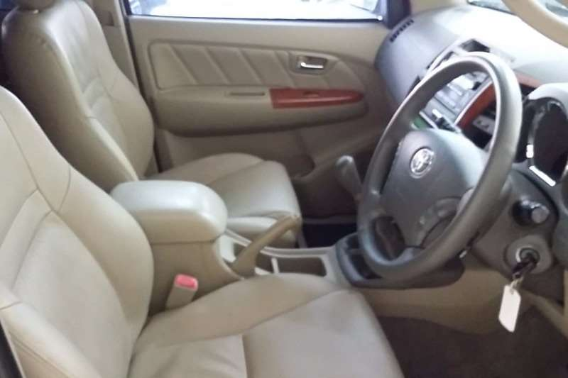 Toyota Fortuner 3.0D 4D 4x4 2009