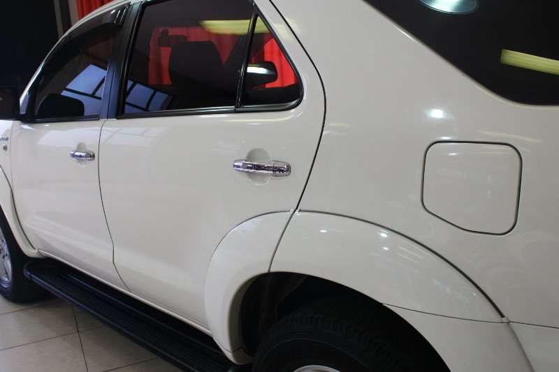 Toyota Fortuner 3.0D 4D 4x4 auto 2011