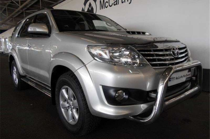 Toyota Fortuner Fortuner 3.0D-4D Heritage Edition automatic 2012
