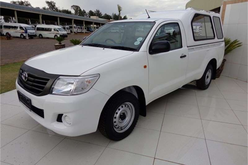 2014 Toyota Hilux 2.0 VVTI SINGLE CAB Cars For Sale In