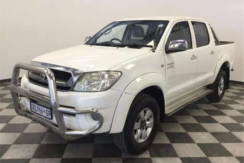 Toyota Hilux 2.7 double cab Raider 2009