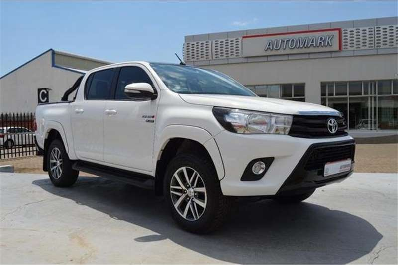 2017 Toyota Hilux 2 8 Gd 6 Double Cab Raider Auto Cars For