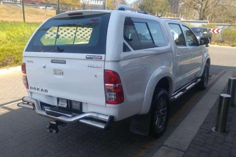 Toyota Hilux 3.0D 4D double cab Raider Dakar edition 2014