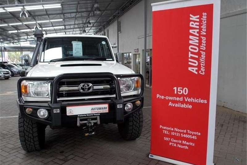 Toyota Land Cruiser 79 4.5D 4D LX V8 Double Cab 2013