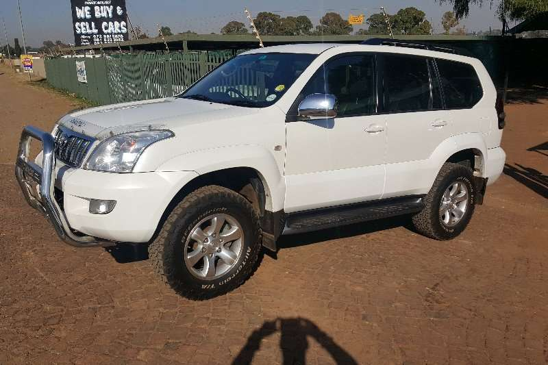 2005 toyota land cruiser prado cars for sale in gauteng r 189 900 on auto mart. Black Bedroom Furniture Sets. Home Design Ideas