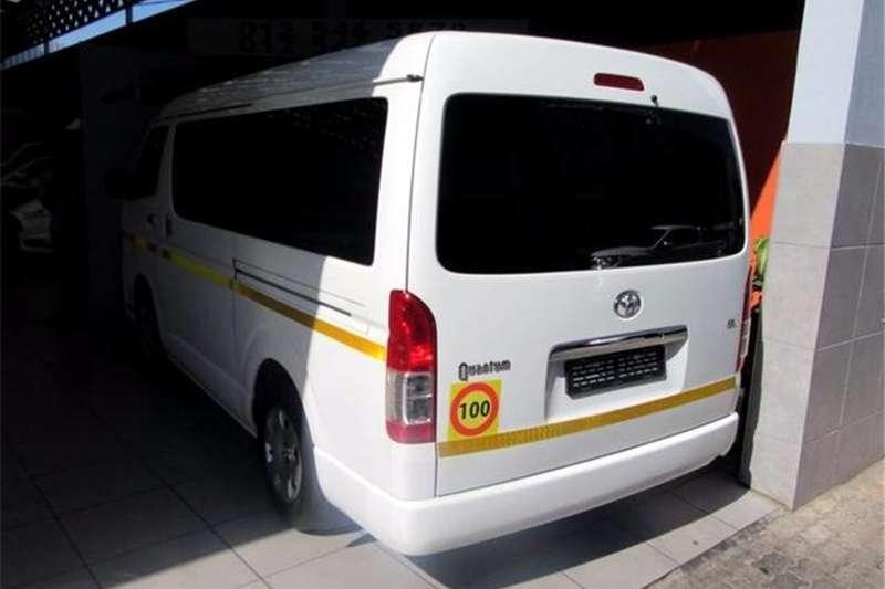 Toyota Quantum 2.5D 4D GL 10 seater bus 2015
