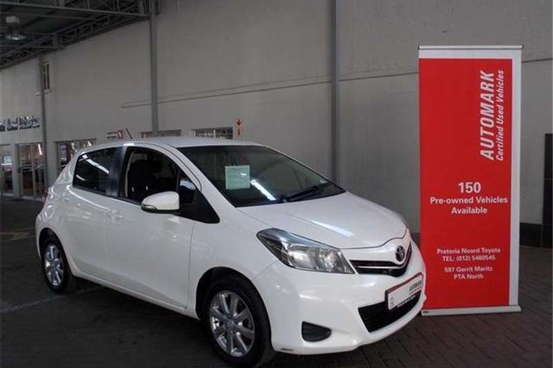 Toyota Yaris 5-door 1.3 XS 2014