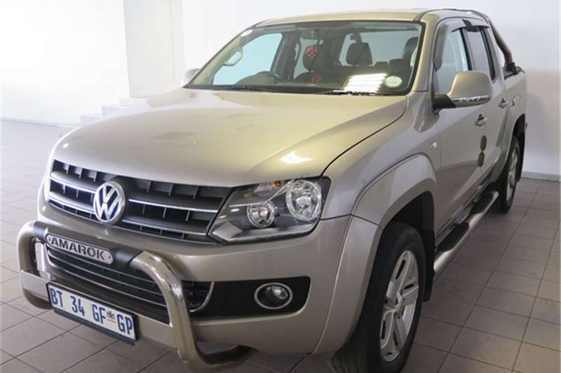 VW Amarok Amarok 2.0BiTDI double cab Highline 4Motion 2012