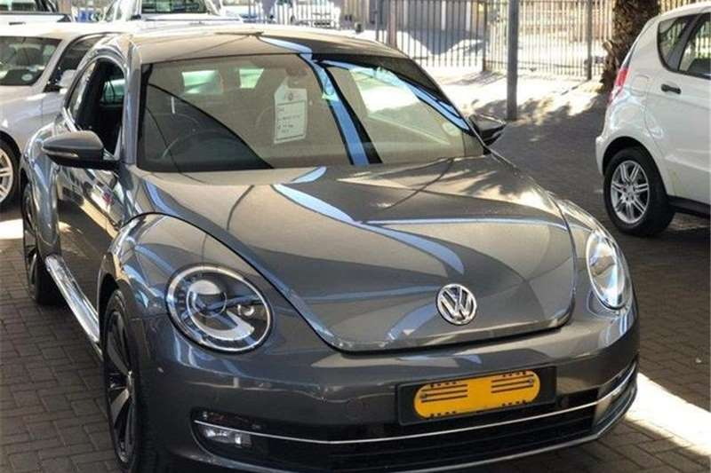 VW Beetle 1.2TSI Design 2012