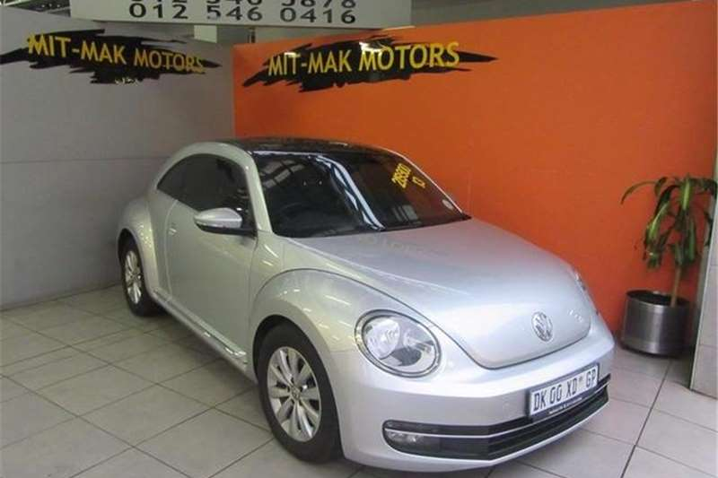 VW Beetle 1.2TSI Design 2013