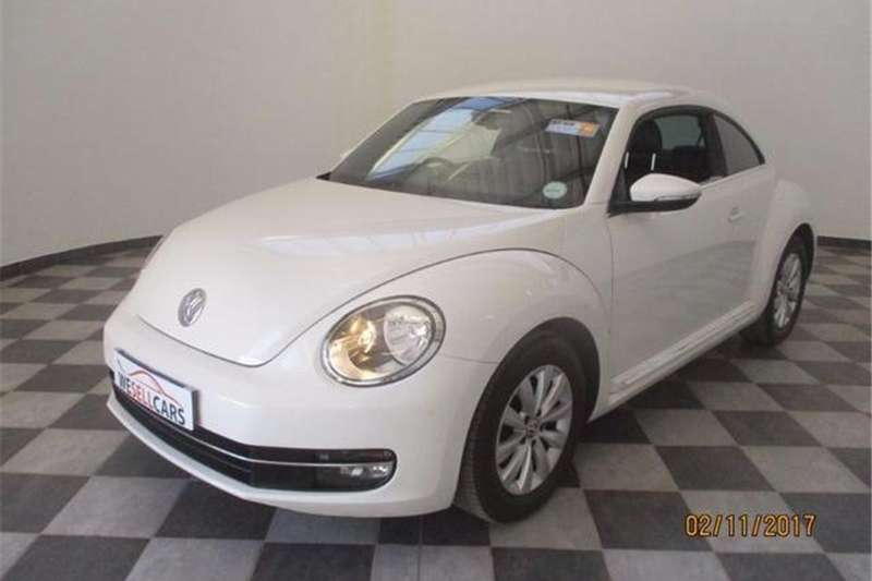 VW Beetle 1.2TSI Design 2014