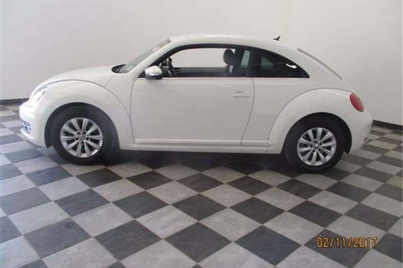 VW Beetle 1.2TSI Design 2014