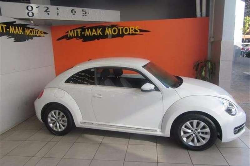 VW Beetle 1.2TSI Design 2015