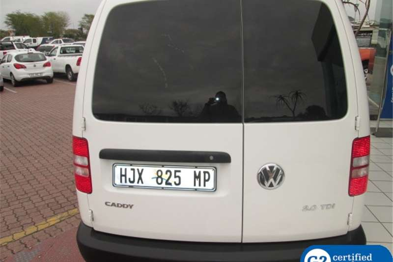 VW Caddy 2.0TDI Maxi panel van 2014