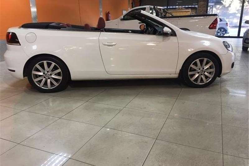 VW Golf cabriolet 1.4TSI Highline 2012