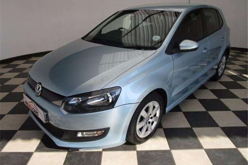 VW Polo 1.2TDI BlueMotion 2012