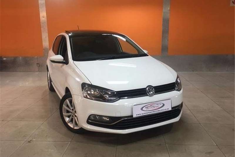 VW Polo Hatch 1.2TSI Highline 2014
