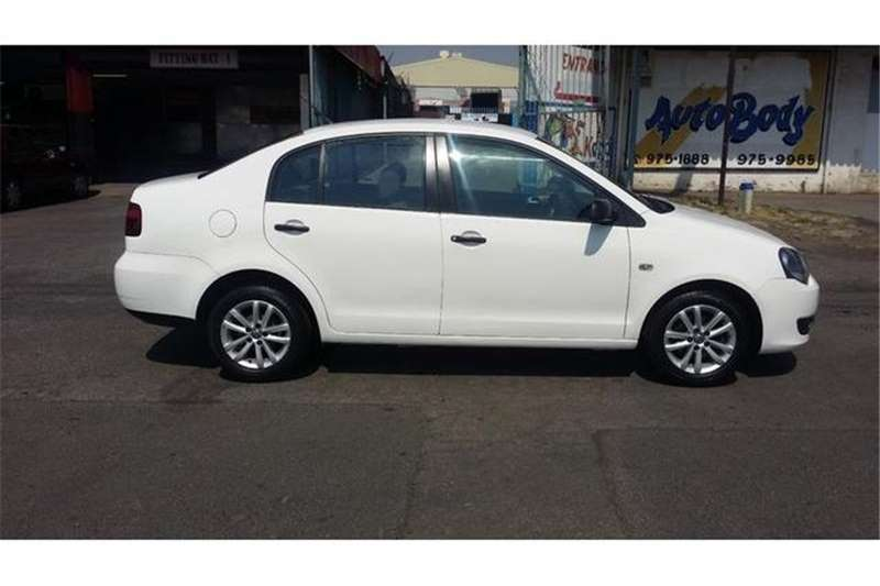 VW Polo Vivo sedan 1.4 Trendline 2013