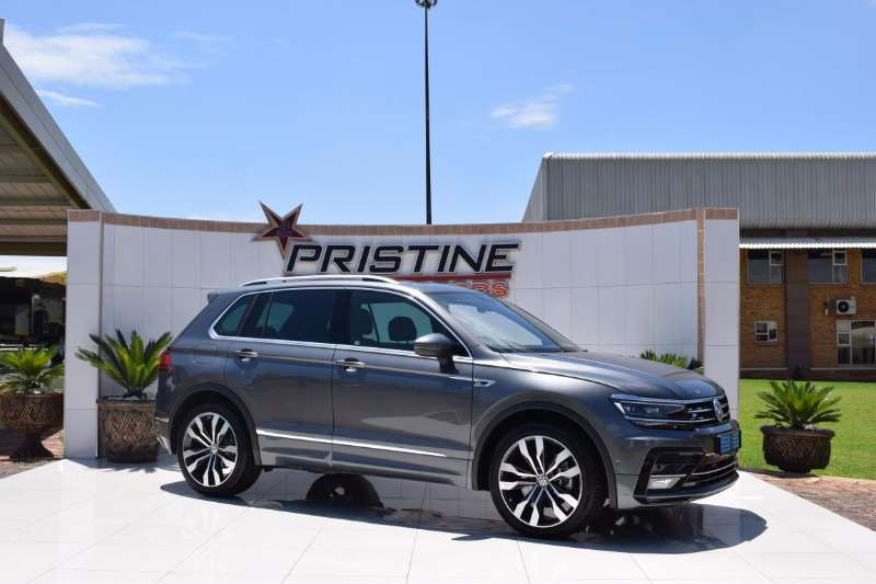 2018 Vw Tiguan 2 0tdi 4motion Highline R Line Crossover