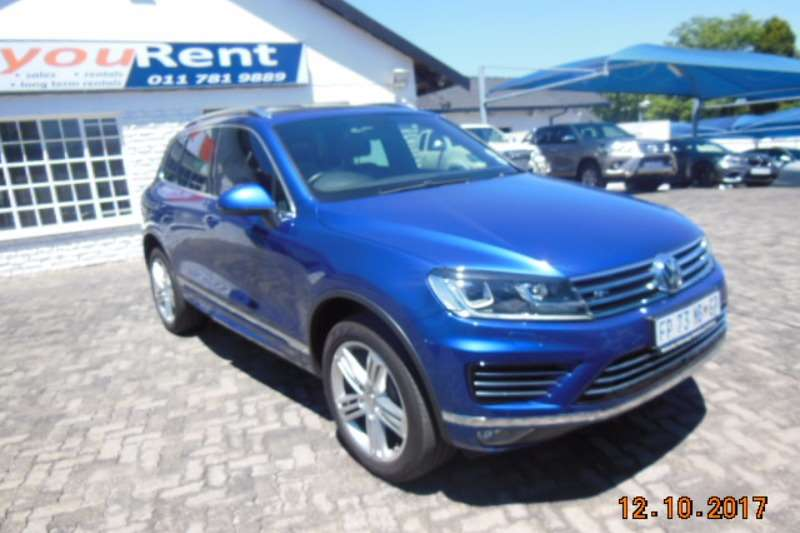 VW Touareg V6 TDI Luxury 2016