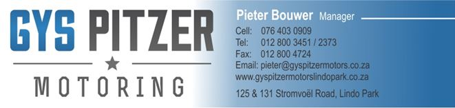 Find Gys Pitzer Motors Lindo Park's adverts listed on Junk Mail