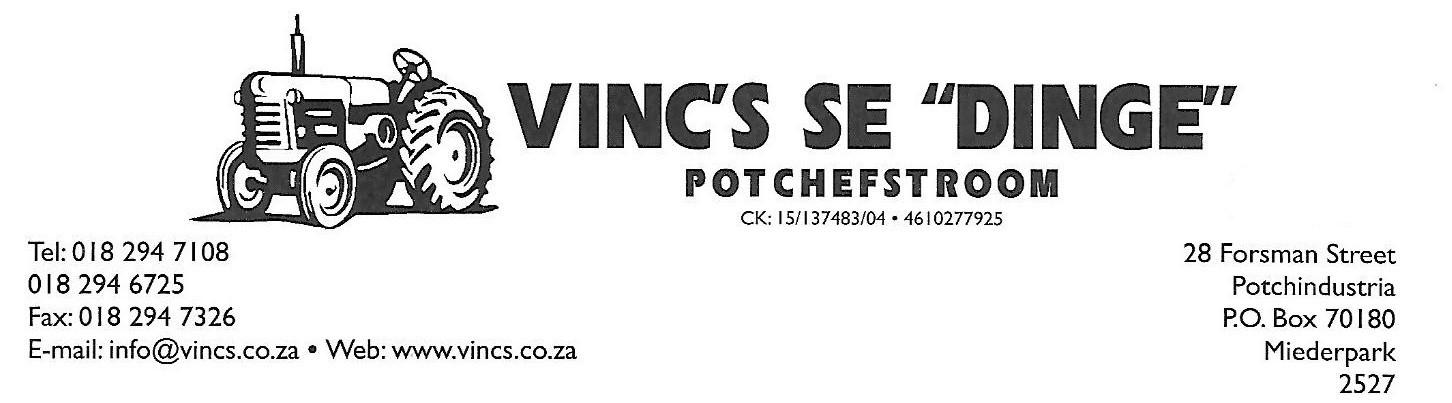 Find Vincs se Dinge's adverts listed on Junk Mail
