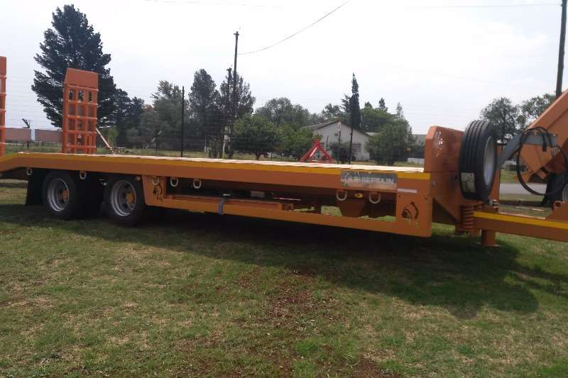 Chieftain Other agricultural trailers Chieftain dubbel as lowbed Agricultural trailers