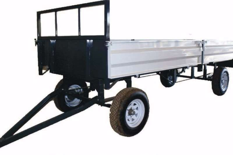 Agricultural Trailers Dicla Farm Trailer 8 ton - With suspension 0