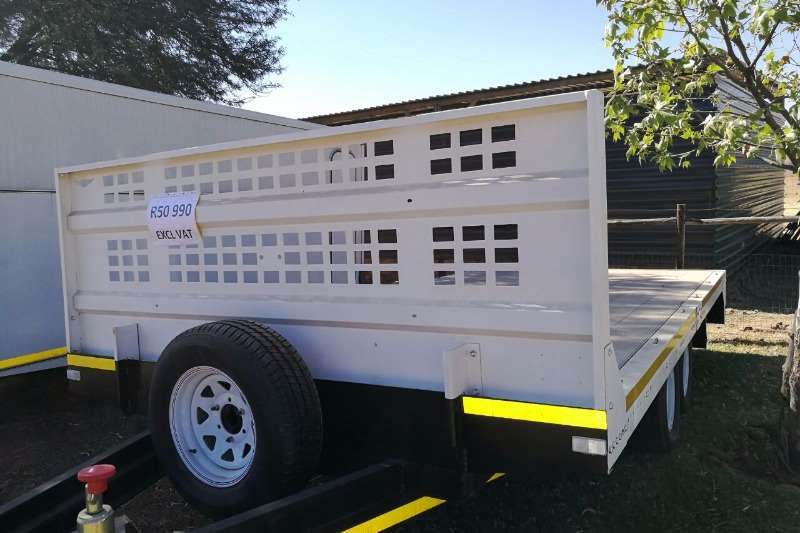 Farm Trailer with aluminium deck Agricultural trailers