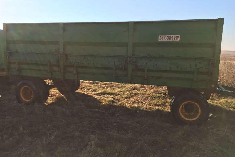 Grain trailers Massa wa 12 ton Agricultural trailers