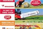 Agricultural trailers hooi toerusting 0