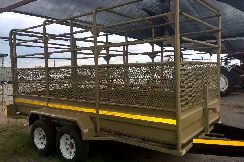 Agricultural Trailers NEW Cattle Trailer 0