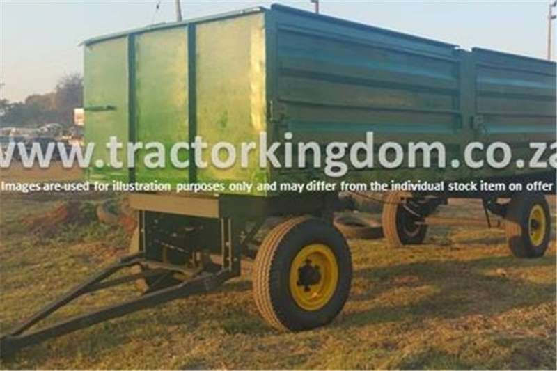 Agricultural Trailers Other 10 Ton Trailer (Green) 0