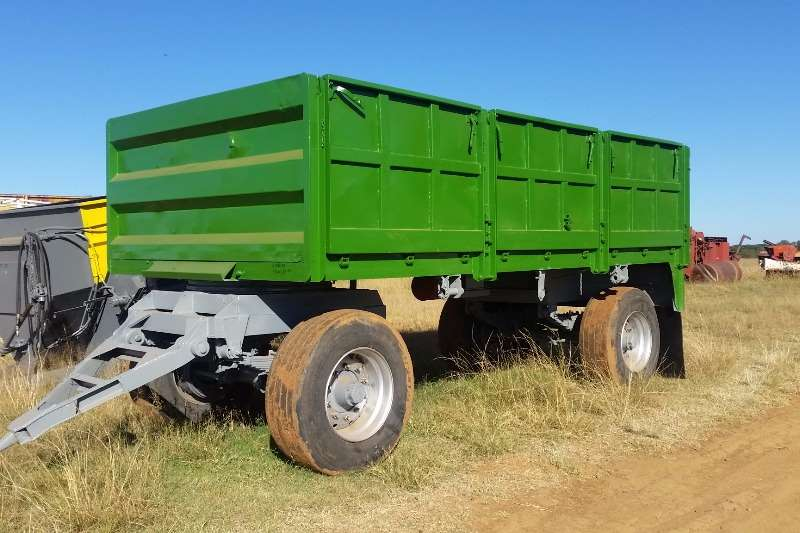 Agricultural Trailers Other Agricultural Trailers High speed high sided trailer / Hoeespoed Massawa 0