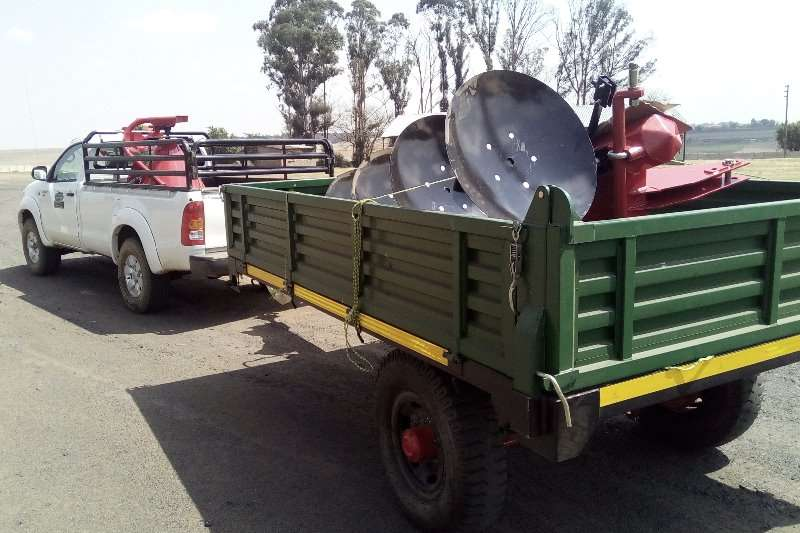 Other agricultural trailers New 5/3 Ton Tip trailers with dropsides Agricultural trailers