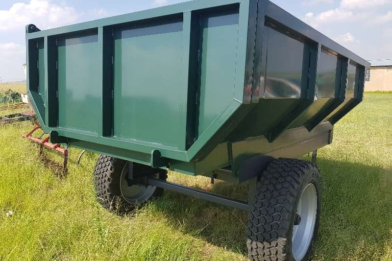 Agricultural Trailers Other Agricultural Trailers New Green 5 Ton heavy duty tip trailer 0