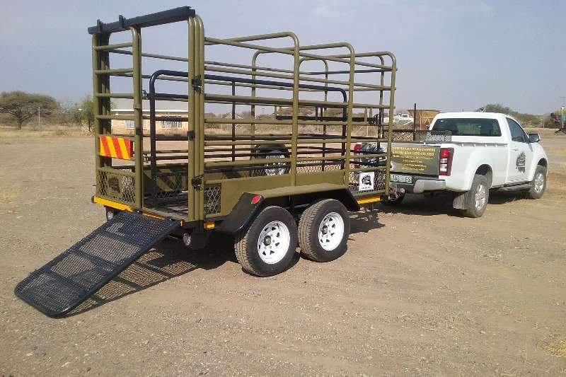 Ystervark Cattle trailers YSTERVARK 3.2m BEESWA Agricultural trailers