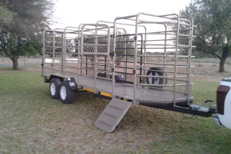 Agricultural Trailers Ystervark Cattle Trailers YSTERVARK 6M BEESWA 0