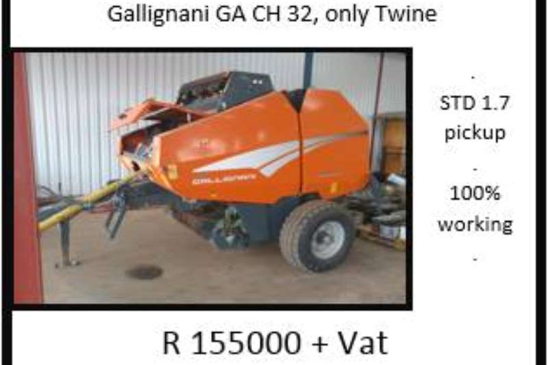 Other Gallignani GA CH 32 Balers