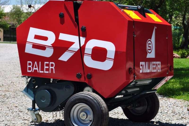 Staalmeester B70 Round Baler Balers